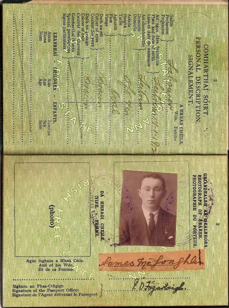 James passport